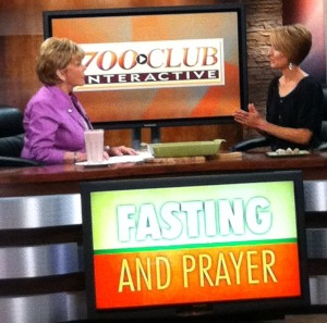 Kristen Feola Interview on 700 Club Fasting and Prayer