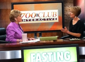 Kristen Feola Interview on 700 Club Interactive