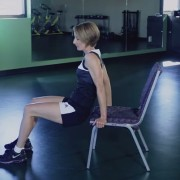 """""""How to Do a Chair Dip"""" by Kristen Feola"""