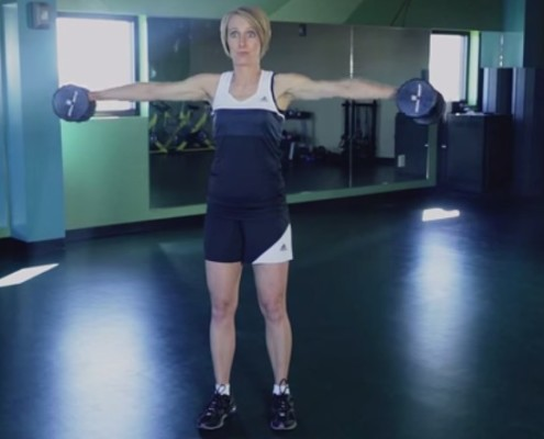 """How to Do a Lateral Raise"" by Kristen Feola"