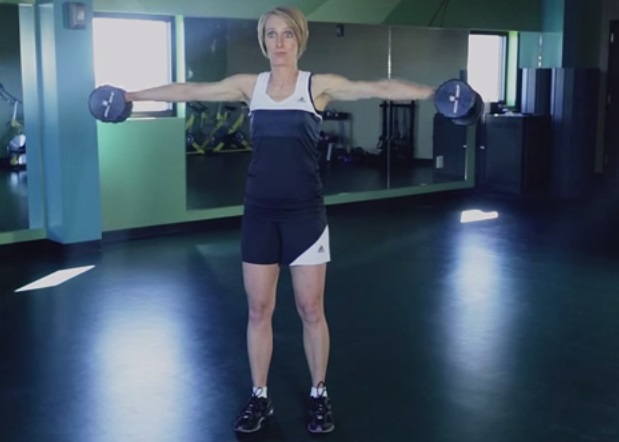 """""""How to Do a Lateral Raise"""" by Kristen Feola"""